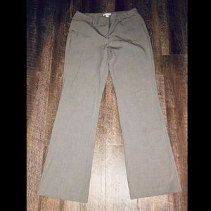 New York and company pale gray dress pants